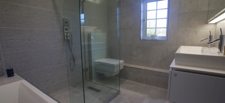 Wetroom in Beaconsfield New Town